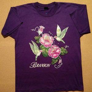 Vintage Branson Missouri Glitter T-Shirt - Sz: M/L